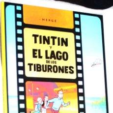 Cómics: TINTIN Y EL LAGO DE LOS TIBURONES (HERGË). NUEVO Y REBAJADO A PRECIO REDONDO. Lote 179083106