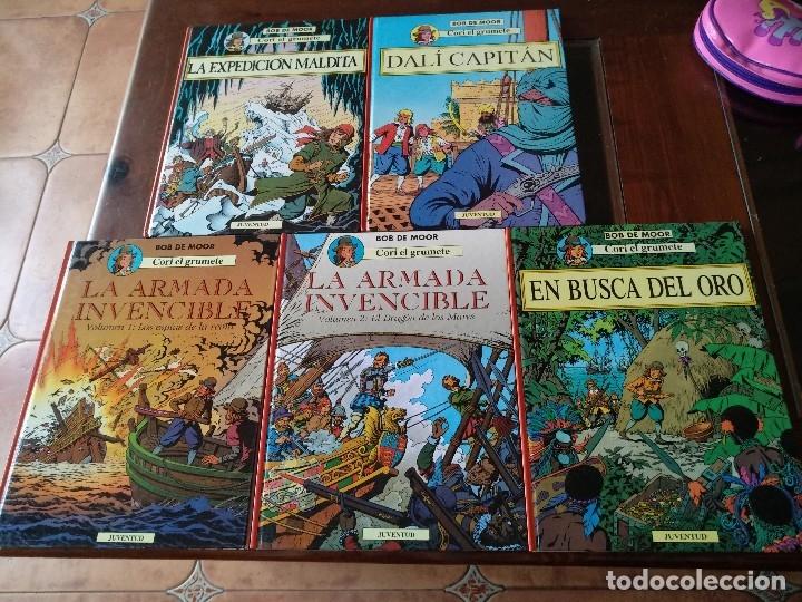 CORI EL GRUMETE. 5 TOMOS COMPLETA BOB DE MOOR JUVENTUD (Tebeos y Comics - Juventud - Cori el Grumete)