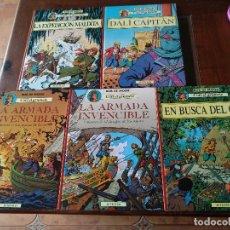 Cómics: CORI EL GRUMETE. 5 TOMOS COMPLETA BOB DE MOOR JUVENTUD. Lote 179101623