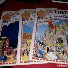 Cómics: LOTE TINTIN Nº 1, Nº 2 Y Nº 3. CALCOMIC KIT.KIT. 1982. Lote 179174127