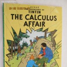 Cómics: TINTIN THE CALCULUS AFFAIR - HERGÉ - EDICIONES DEL PRADO 1960 - INGLÉS. . Lote 179532466