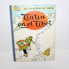 Cómics: COMIC TEBEO - LAS AVENTURAS DE TINTIN EN EL TIBET - TERCERA EDICION 1967. Lote 179545400