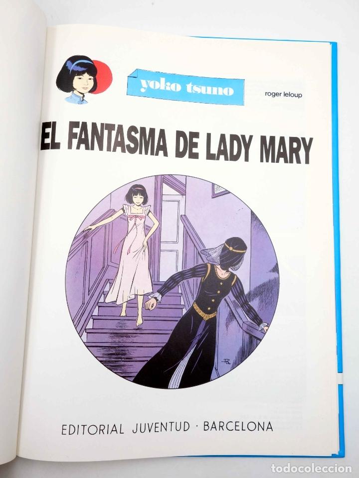 Cómics: YOKO TSUNO 12. EL FANTASMA DE LADY MARY (Roger Leloup) Juventud, 1990 - Foto 3 - 198971102
