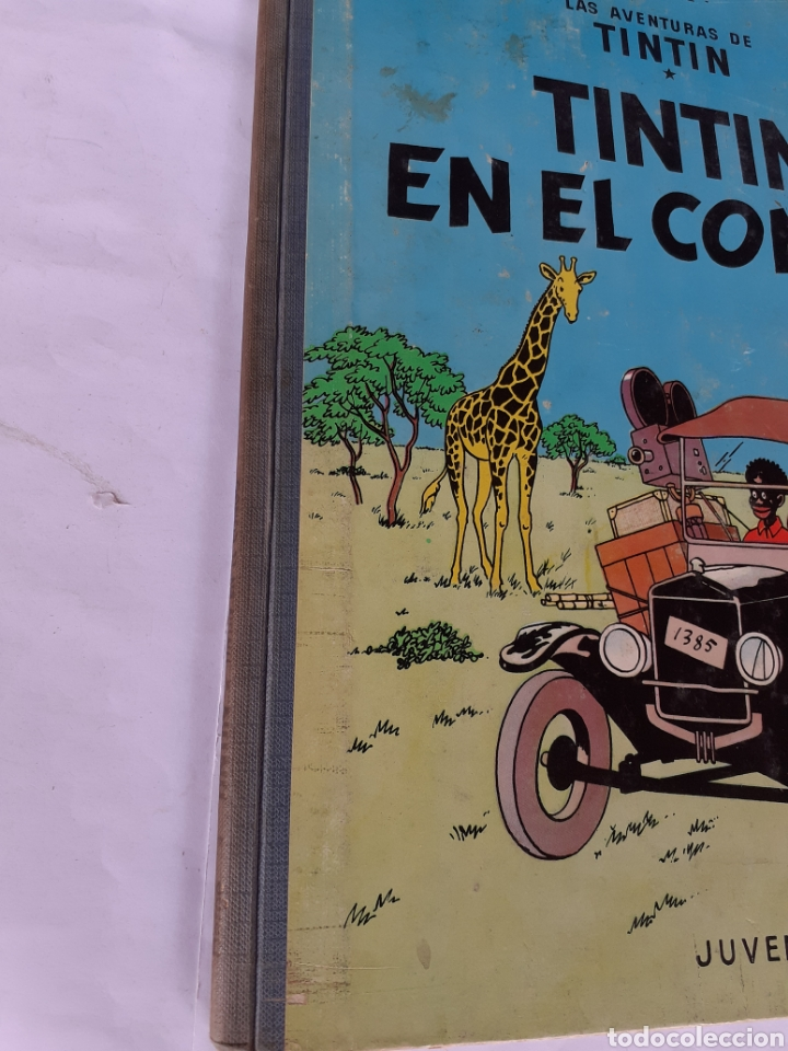 Cómics: TINTIN EN EL CONGO 1968 PRIMERA EDIC. - Foto 2 - 180094670