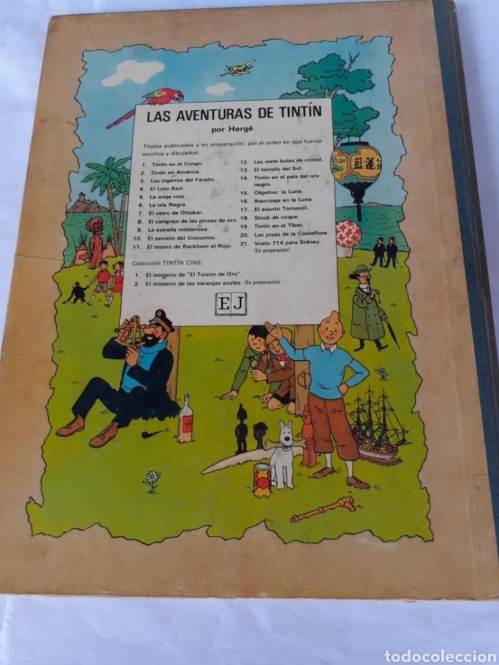 Cómics: TINTIN EN EL CONGO 1968 PRIMERA EDIC. - Foto 3 - 180094670