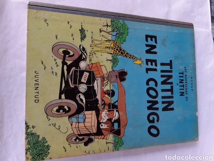 TINTIN EN EL CONGO 1968 PRIMERA EDIC. (Tebeos y Comics - Juventud - Otros)