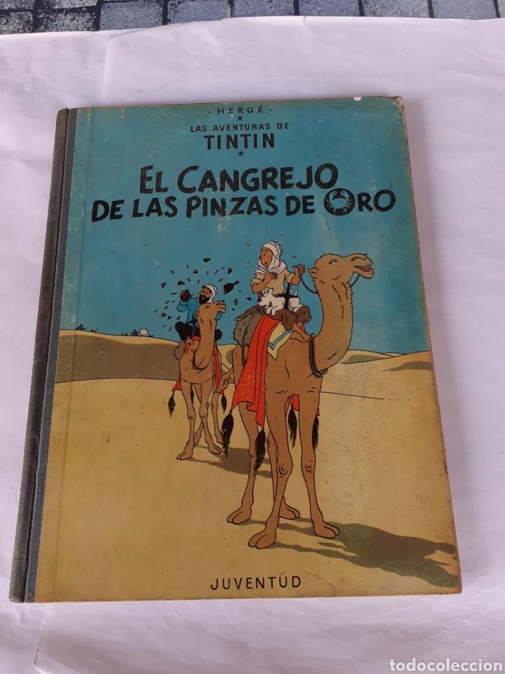 TINTIN EL CANGREJO DE LAS PINZAS DE ORO 1968 (Tebeos y Comics - Juventud - Otros)