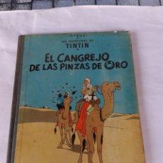 Cómics: TINTIN EL CANGREJO DE LAS PINZAS DE ORO 1968. Lote 180095687