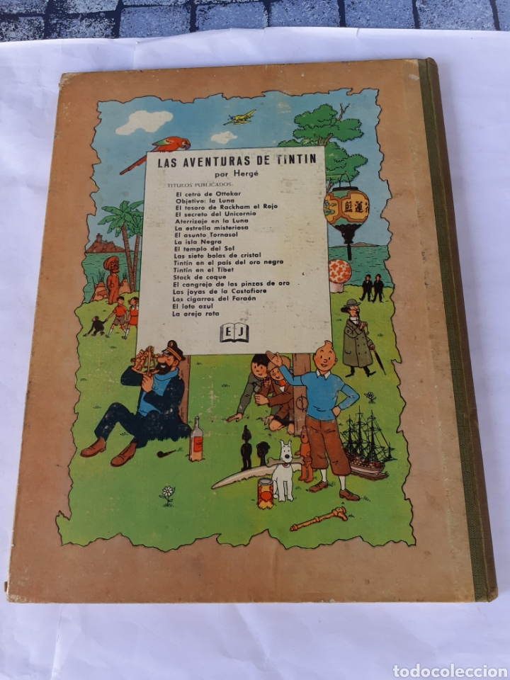 Cómics: TINTIN LAS 7 BOLAS DE CRISTAL EDIC 1967 - Foto 2 - 180096733