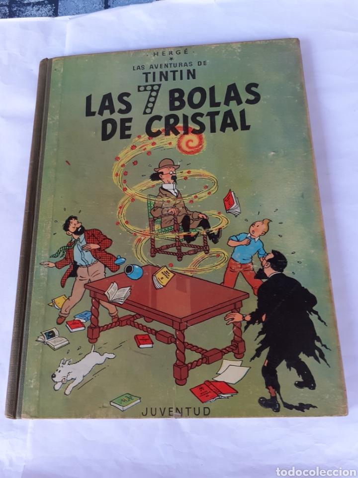 TINTIN LAS 7 BOLAS DE CRISTAL EDIC 1967 (Tebeos y Comics - Juventud - Otros)