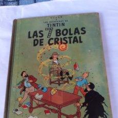Cómics: TINTIN LAS 7 BOLAS DE CRISTAL EDIC 1967. Lote 180096733