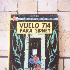Cómics: TINTÍN - VUELO 714 PARA SIDNEY- HERGÈ 1988. Lote 180097916