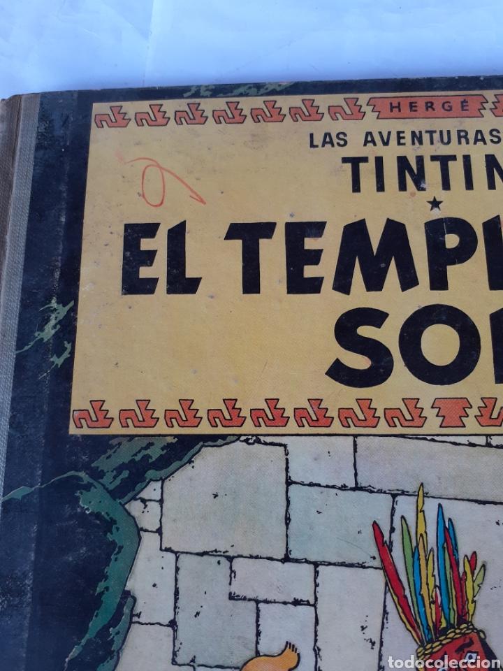 Cómics: TINTIN EL TEMPLO DEL SOL SEGUNDA EDICION 1961 - Foto 2 - 180098031