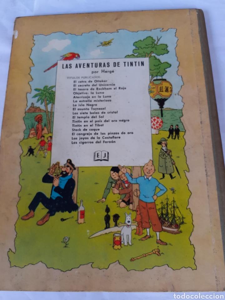 Cómics: TINTIN EL TEMPLO DEL SOL SEGUNDA EDICION 1961 - Foto 3 - 180098031