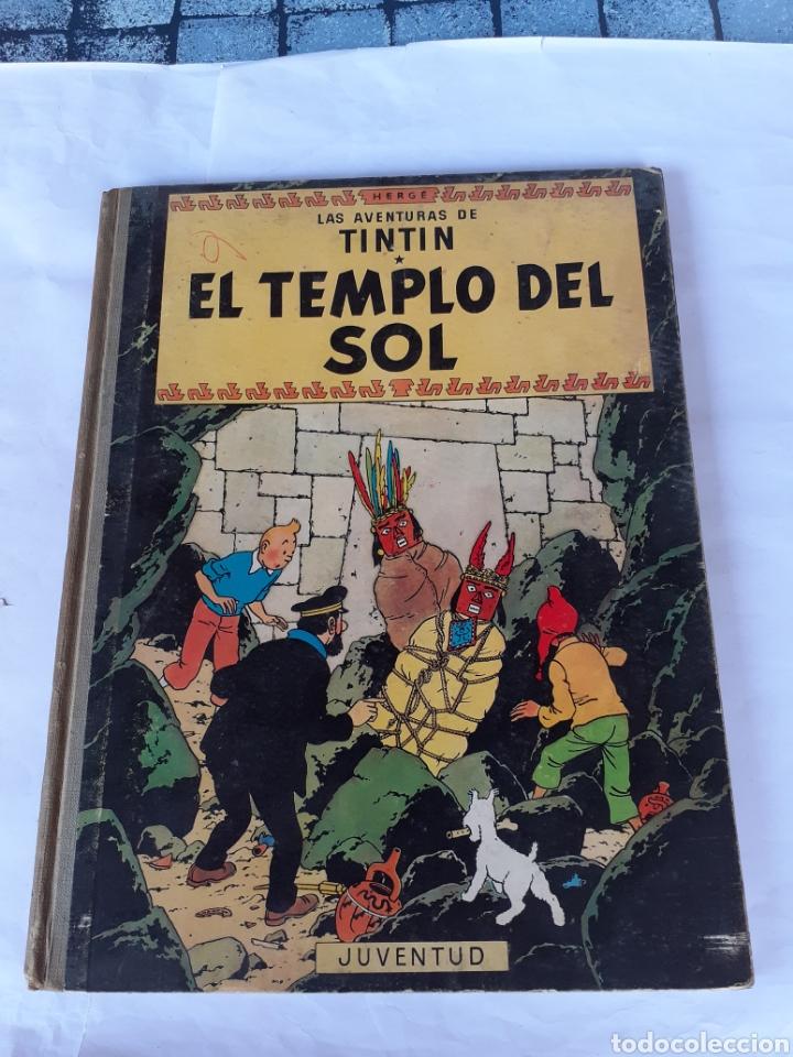TINTIN EL TEMPLO DEL SOL SEGUNDA EDICION 1961 (Tebeos y Comics - Juventud - Otros)