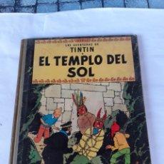 Cómics: TINTIN EL TEMPLO DEL SOL SEGUNDA EDICION 1961. Lote 180098031