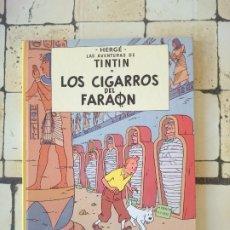 Cómics: TINTÍN- LOS CIGARRILLOS DEL FARAÓN - HERGÉ. Lote 180100127