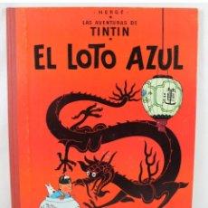 Cómics: TINTÍN - EL LOTO AZUL - PRIMERA EDICIÓN LOMO ROJO. Lote 180106892