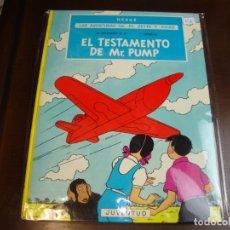Cómics: LAS AVENTURAS DE JO, ZETTE Y JOCKO 1ER EPISODIO EL TESTAMENTO DE MR. PUMP 2 EDICION. Lote 180155267