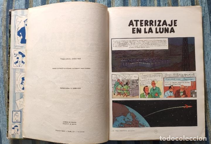 Cómics: TINTIN ATERRIZAJE EN LA LUNA (PRIMERA EDICION) - HERGE (JUVENTUD 1959) - Foto 2 - 180183807
