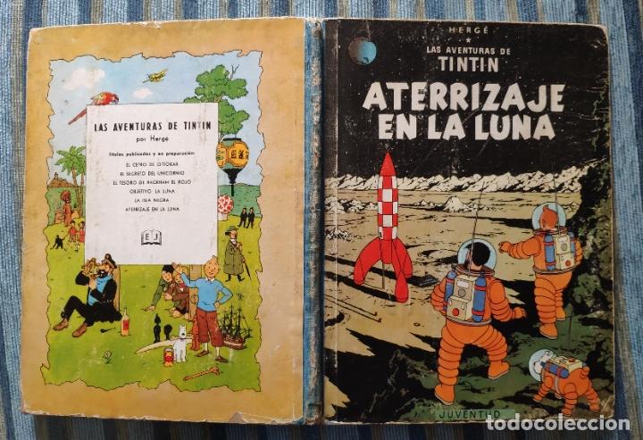 TINTIN ATERRIZAJE EN LA LUNA (PRIMERA EDICION) - HERGE (JUVENTUD 1959) (Tebeos y Comics - Juventud - Tintín)