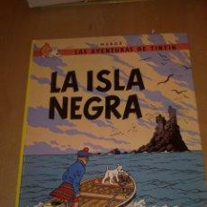 Cómics: TINTIN LA ISLA NEGRA. Lote 180403695