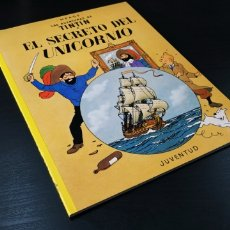 Cómics: DE KIOSCO TINTIN EL SECRETO DEL UNICORNIO HERGE JUVENTUD. Lote 181324485