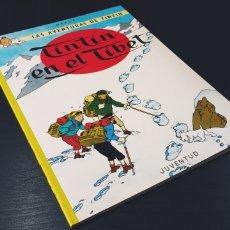 Comics : DE KIOSCO TINTIN EN EL TIBET HERGE JUVENTUD. Lote 181324567