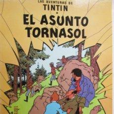 Cómics: LAS AVENTURAS DE TINTIN - EL ASUNTO TORNASOL - 11ª EDICIÓN - JUVENTUD 1988.. Lote 181425381