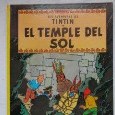 Cómics: EL TEMPLE DEL SOL. LES AVENTURES DE TINTIN. TAPA DURA. ED. JUVENTUD. EN CATALAN. DEBIBL. Lote 181491615