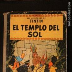 Cómics: TINTÍN, EL TEMPLO DEL SOL, DE HERGÉ. 1ª EDICIÓN - ED. JUVENTUD, 1961. Lote 181512460