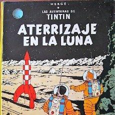 Cómics: 3 COMIC TINTIN EDICIÓN 1976 - TINTIN EN EL CONGO - ATERRIZAJE EN LA LUNA - EN EL PAÍS DEL ORO NEGRO. Lote 181954906
