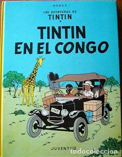 Cómics: 3 COMIC TINTIN EDICIÓN 1976 - TINTIN EN EL CONGO - ATERRIZAJE EN LA LUNA - EN EL PAÍS DEL ORO NEGRO - Foto 3 - 181954906