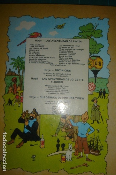 Cómics: TINTÍN, El secreto del Unicornio. ESPLÉNDIDO ESTADO - Foto 2 - 27525804