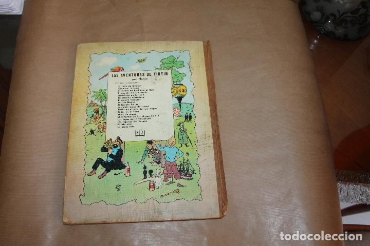 Cómics: TINTIN EN AMÉRICA, 1ª EDICIÓN, LOMO DE TELA, EDITORIAL JUVENTUD - Foto 3 - 182077960