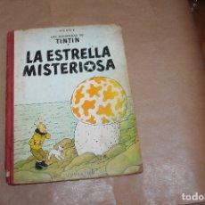 Cómics: TINTÍN, LA ESTRELLA MISTERIOSA, 2ª EDICIÓN, LOMO DE TELA, EDITORIAL JUVENTUD. Lote 182078148