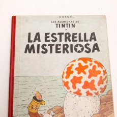 Cómics: TINTIN - LA ESTRELLA MISTERIOSA - 1ª ESPAÑOL. Lote 182202277