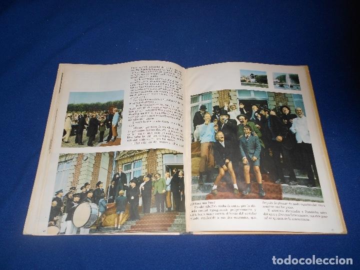 Cómics: Tintín y las naranjas azules Juventud primera edición Herge 1970 MUY BUE ESTADO - Foto 8 - 182277590