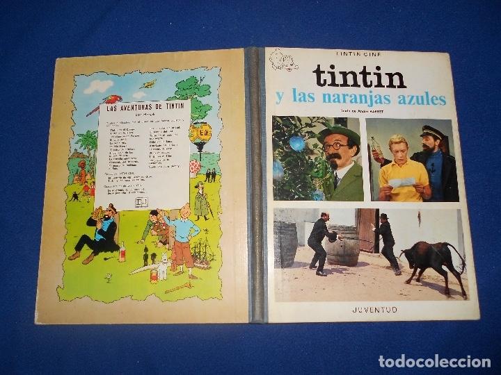 Cómics: Tintín y las naranjas azules Juventud primera edición Herge 1970 MUY BUE ESTADO - Foto 11 - 182277590