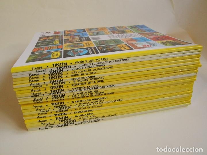Cómics: COLECCIÓN COMPLETA DE TINTIN - 23 ÁLBUMES EN RÚSTICA (TAPA BLANDA) - EDITORIAL JUVENTUD - Foto 10 - 182380467