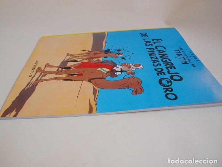 Cómics: COLECCIÓN COMPLETA DE TINTIN - 23 ÁLBUMES EN RÚSTICA (TAPA BLANDA) - EDITORIAL JUVENTUD - Foto 11 - 182380467