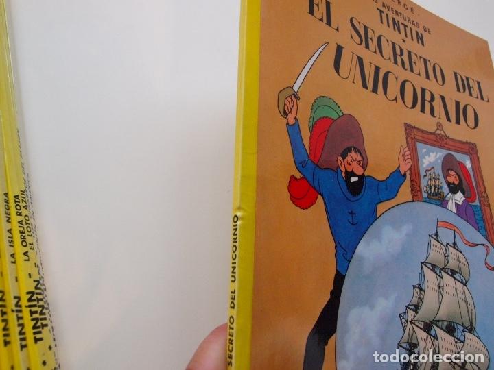 Cómics: COLECCIÓN COMPLETA DE TINTIN - 23 ÁLBUMES EN RÚSTICA (TAPA BLANDA) - EDITORIAL JUVENTUD - Foto 12 - 182380467