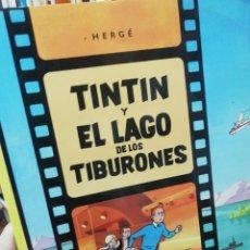 Cómics: TINTIN Y EL LAGO DE LOS TIBURONES . Lote 182499223