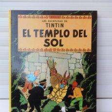 Cómics: LAS AVENTURAS DE TINTIN. EL TEMPLO DEL SOL. EDITORIAL JUVENTUD. UNDÉCIMA EDICIÓN 1989. Lote 182528996