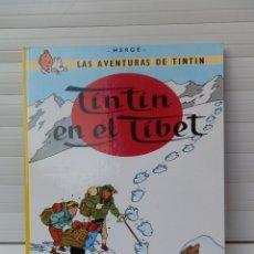Cómics: LAS AVENTURAS DE TINTIN. TINTIN EN EL TIBET. EDITORIAL JUVENTUD. DECIMOTERCERA EDICIÓN 1989. Lote 182529281