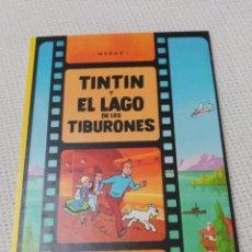 Comics: TINTÍN Y EL LAGO DE LOS TIBURONES 9ª EDICIÓN TAPA DURA EN EXCELENTE ESTADO.. Lote 182610871