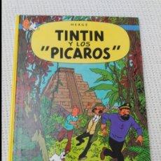 Cómics: TINTÍN Y LOS PÍCAROS 9ª EDICIÓN TAPA DURA EN EXCELENTE ESTADO.. Lote 182611165