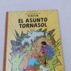 Cómics: TINTÍN EL ASUNTO TORNASOL 1968 LOMO DE TELA 3ª EDICIÓN. Lote 182611748