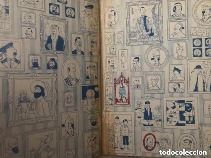 Cómics: LOTE ANTIGUOS CÓMIC TEBEO TINTÍN PRIMERAS SEGUNDAS EDICIONES JUVENTUD - Foto 3 - 182624545