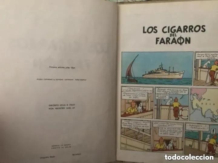 Cómics: LOTE ANTIGUOS CÓMIC TEBEO TINTÍN PRIMERAS SEGUNDAS EDICIONES JUVENTUD - Foto 5 - 182624545